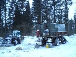 Рускомтех. Лесной жилой вагон