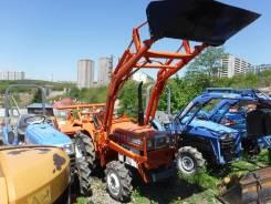 Kubota L1802. Трактор 18 л. с., 4wd, фреза, вом, погрузчик, 18 л.с.