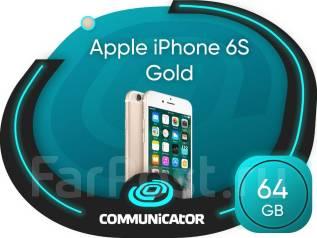 Apple iPhone 6s. Новый, 64 Гб, Золотой, 3G, 4G LTE, NFC