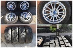 "175/65R14 Dunlop Winter Maxx WM01 - 95% - 2016 г. с литьем. 5.5x14"" 4x100.00 ET42 ЦО 73,0мм."
