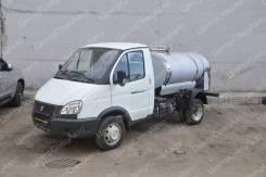 ГАЗ 3302. Молоковоз / Водовоз ГАЗель ГАЗ-3302 нерж/нерж, 1200 л., 2 690куб. см., 1 660кг., 4x2
