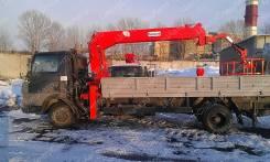 Tata 613 EX. TATA 613 с КМУ Kanglim 735 люлька, 3 760куб. см., 4x2