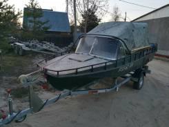 Казанка-5М3. двигатель подвесной, 40,00л.с., бензин