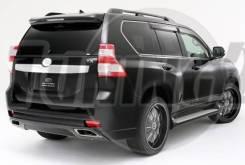Задний бампер Elford Toyota Land Cruiser Prado 150 2013 - 2017