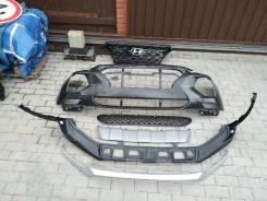 Бампер. Hyundai Santa Fe, TM Двигатели: D4HA, D4HB, G4KE, G4KH