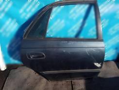 Дверь задняя правая(деф) на Toyota Carina 1996г. в. #T19#, 5A