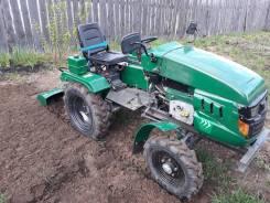 ASV. Продается мини трактор. Флаер-15. с навесным оборудованием. почвафреза. и, 15 л.с.