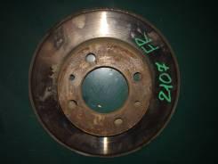 Диск тормозной. Лада: 2104, 2105, 2106, 2107, 2101, 2102, 2103 Двигатели: BAZ2103, BAZ2105, BAZ21067, BAZ341, BAZ343, BAZ2101, BAZ21011, BAZ2104, BAZ2...