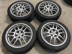 215/45 R17 Bridgestone ST20 литые диски 5х114.3 (L26-1704)