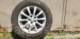 """Летние Колеса Michelin 225/65R17, диски Weds Joker 17x7.5 ET40 5x114.3. 7.5x17"""" 5x114.30 ET40 ЦО 70,3мм."""