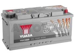 GS Yuasa. 110А.ч., Обратная (левое), производство Япония