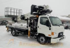 Dasan Skyman DS-300L. Продажа автовышки 30 метров Dasan DS-300L на базе Hyundai HD-78, 3 933куб. см., 30,00м.