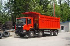 Scania. Cамосвал углевоз P4408X4HZ, 440куб. см., 30 000кг., 8x4