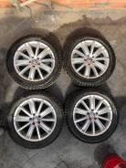 """Оригинальные колеса Volkswagen R18 + новая резина. 7.0x18"""" 5x112.00 ET43 ЦО 57,1мм."""