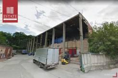 Теплый склад — высокий потолок — Коммуналка включена. 700,0кв.м., улица Кубанская 10, р-н Вторая речка. Дом снаружи