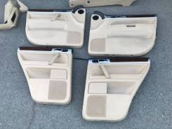 Дверные карты 4 шт со шторками VW touareg 2003-2010 GP 62к пробега