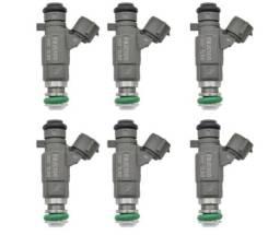 Инжекторы Nissan 16600AE060 комплект 6 шт. Бесплатная доставка по РФ