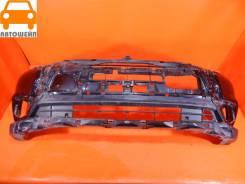 Бампер передний Mitsubishi Outlander 2015-2018 оригинал, трещина