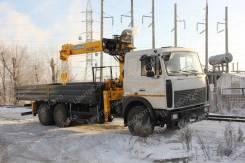 МАЗ 6303. с КМУ Soosan 736L2, 6 650куб. см., 6x4