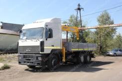 МАЗ 6303. с КМУ Soosan 736, 6 650куб. см., 6x4