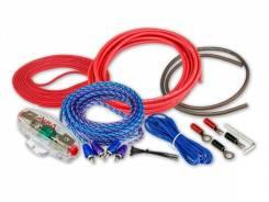Комплект проводов для подключения 2-х канального усилителя 10AWG ACV 21-KIT2-10 53441