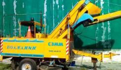 Гидросельмаш. Подметально-уборочная машина ПУМ «Волжанин», 1 000куб. см.