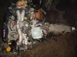 Двигатель + КПП Subaru EJ20T Контрактная | Гарантия