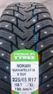 Nokian Hakkapeliitta 8 SUV. Зимние, шипованные, 2019 год, без износа, 4 шт