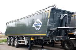 Bodex. Самосвальный полуприцеп-зерновоз 35 куб (Алюминий), 30 000кг.