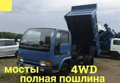 Nissan Atlas. 4WD, самосвал 4 тонны, 4 200куб. см., 4 000кг., 4x4