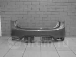 Бампер задний оригинальный Kia Rio 3 Хетчбэк [2015-2017](Неокрашенный)