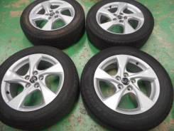 R 17 215/60 Toyota (оригинал) диски с летней резиной 4шт