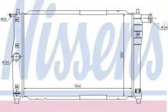 Радиатор GM LANOS 97- [505X382] охлаждения NISSENS 61644