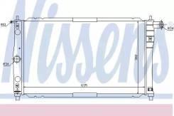 Радиатор системы охлаждения! МКПП\ Daewoo Lanos 1.5/1.6 96 NS61654_ NISSENS 61654