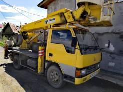 Mitsubishi. Автовышка 14 метров, 4 000куб. см., 14,00м.