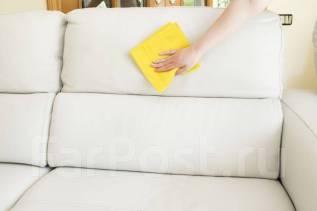 Химчистка мягкой мебели на дому, клининг.
