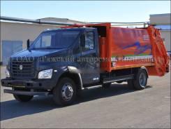 Рарз МК-1541-14. Ряжский мусоровоз на шасси ГАЗ-C41R33, 4 430куб. см.