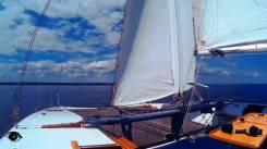 Аренда парусной яхты. 12 человек, 10км/ч