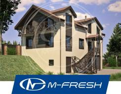 M-fresh Magnat (Строительный проект дома с техническим цоколем! ). 200-300 кв. м., 2 этажа, 7 комнат, комбинированный
