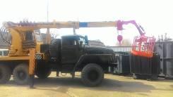 Урал 375. Бурильно-крановая машина на базе , 14,50м.
