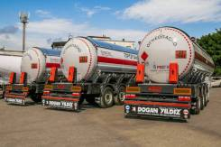 Dogan Yildiz. Полуприцеп цистерна-газовоз , 21 500кг.