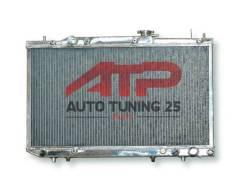 Радиатор охлаждения двигателя. Toyota Caldina, AT211G, CT216G, ST210G, ST215G, ST215W