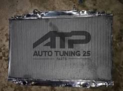 Радиатор охлаждения двигателя. Toyota Soarer, MZ20, MZ21