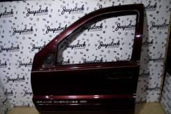 Передняя левая дверь вишня 1999 (голая) Jeep Grand Cherokee WG-WJ