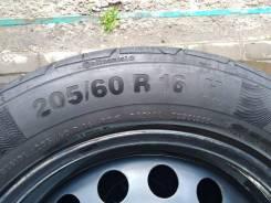 """Штампы с резиной Continental 20560R16. x16"""" 5x114.30 ET50 ЦО 60,0мм."""