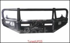 Силовой передний бампер на Isuzu D-Max 2012-2013
