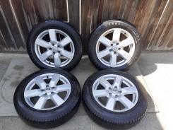 Комплект колес с распила Nissan на резине Dunlop 215 /60 R17