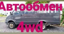 ГАЗ ГАЗель Микроавтобус. Подам микроавтобус Газель 2013 4вд Автообмен, 2 890куб. см., 1 000кг., 4x4