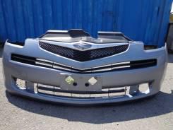 Передний бампер с решеткой -Toyota Ractis 100