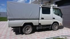 Toyota ToyoAce. Продам японский двухкабинный грузовик, 3 000куб. см., 1 000кг., 4x2